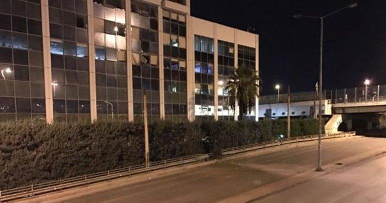 Son dakika: Yunanistan'da özel televizyon kanalı SKAI'ye bombalı saldırı