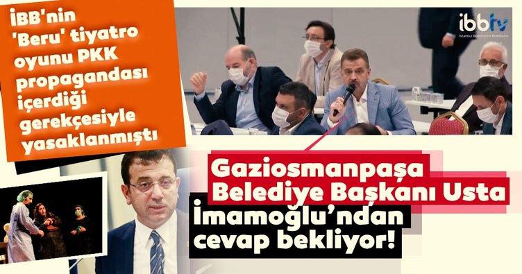 Ekrem İmamoğlu'na Mezopotamya Kültür Merkezi tepkisi! PKK provokatörlerine sahneleri açtı...