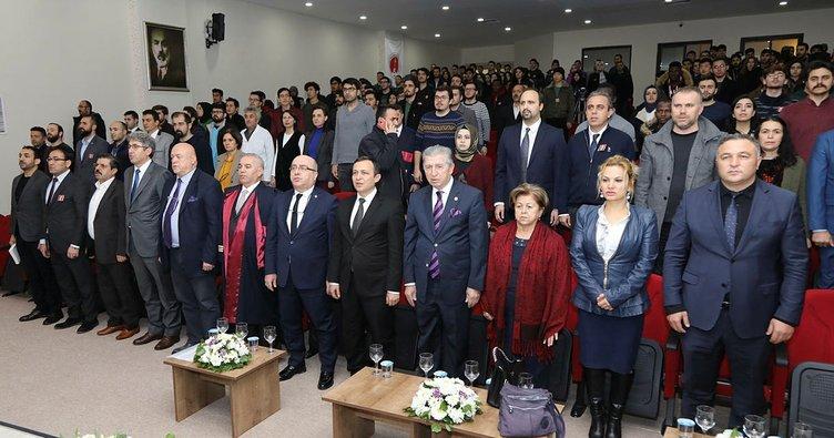 Milli Şair Mehmet Akif Ersoy, ERÜ'de anıldı