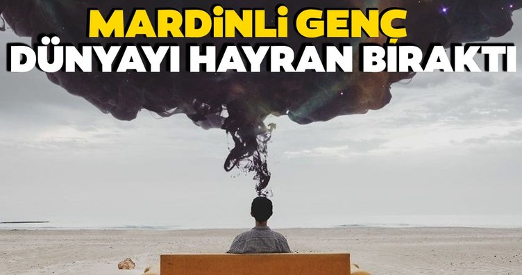 Dünyayı hayran bırakan Mardinli genç