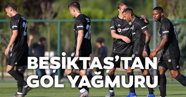 Beşiktaş'tan Kocaelispor'a gol yağmuru
