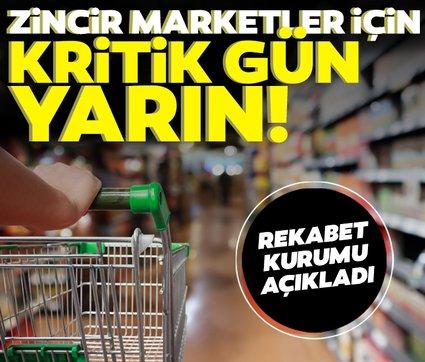 Son dakika haberi: Rekabet Kurumu'ndan zincir market açıklaması! Kritik gün yarın...