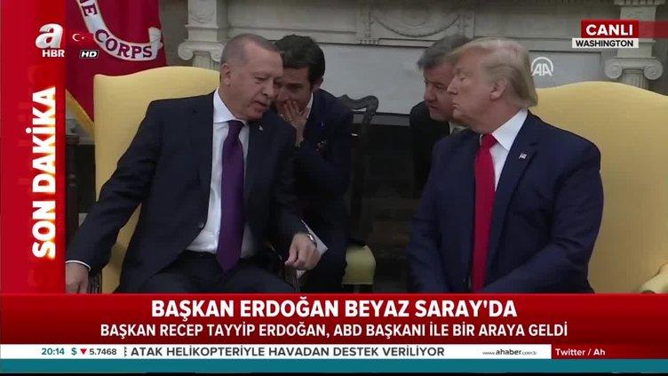 Başkan Erdoğan ve Trump'tan ilk açıklamalar!