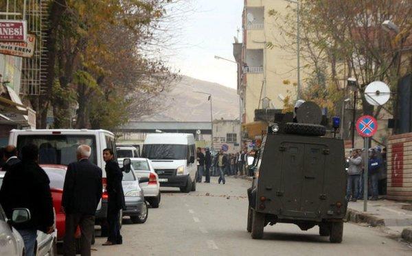 Diyarbakır'da patlama...