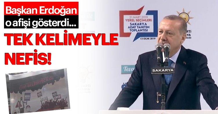 Başkan Erdoğan Sakarya'da aday tanıtım etkinliğinde AK Parti'nin Sakarya adaylarını tanıttı
