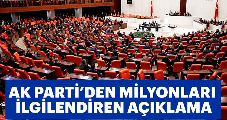 AK Parti Grup Başkanvekili Mehmet Muş'tan son dakika açıklaması