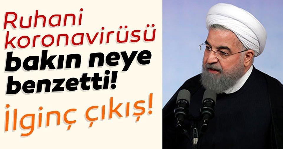 SON DAKİKA… Hasan Ruhani Koronavirüsü bakın neye benzetti! İran'da ölü sayısı artıyor…