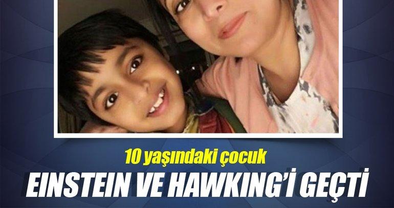 10 yaşındaki çocuk IQ testinde Einstein ve Hawking'i geçti