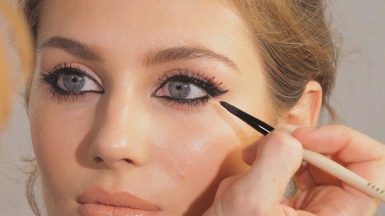 Göz makyajı yaparken gözlerinizi koruyun