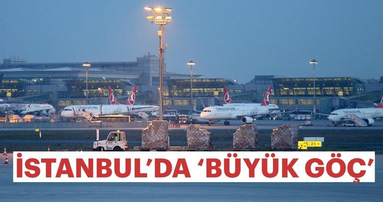 İstanbul'da Büyük Göç sürüyor