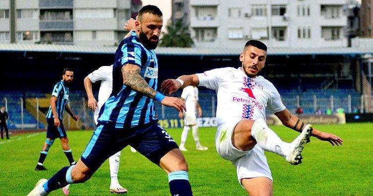 Adana'daki zorlu maçta puanlar 1-1 paylaşıldı