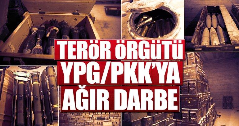 Terör örgütü YPG/PKK'ya ağır darbe
