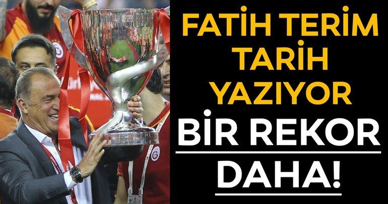 Galatasaray kazandı, Fatih Terim tarihe geçti! Bir rekor daha