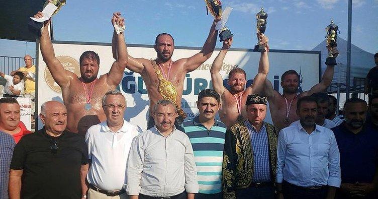 Sancaktepe'de başpehlivan Ali Gürbüz