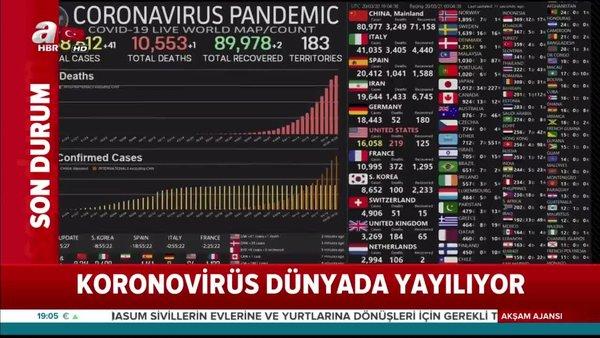 İşte en son koronavirüs rakamları | Video
