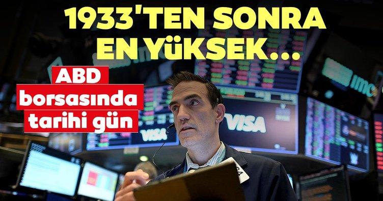 Son dakika: New York Borsası'nda tarihi gün! 1933'ten sonraki en yüksek yükselişle kapandı