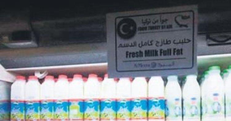 Türk ürünleri Katar'a ulaştı