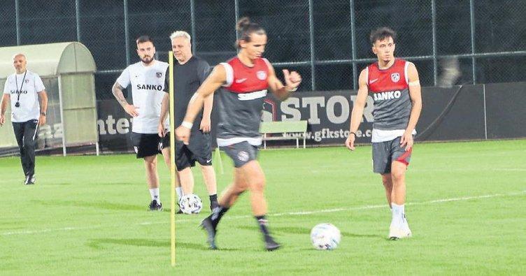 Gaziantep FK'nin forma numaraları belli oldu
