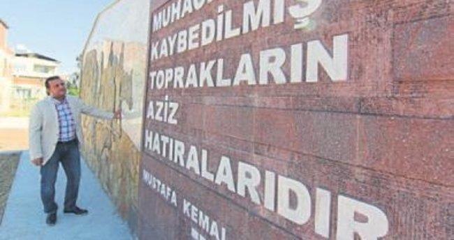 Menderes'te Göç Anıtı tamamlandı