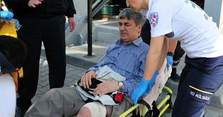 Bacağından vurarak yakaladılar