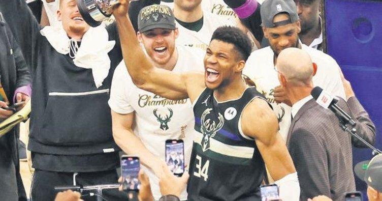 Milwaukee Bucks 50 yıl sonra şampiyon