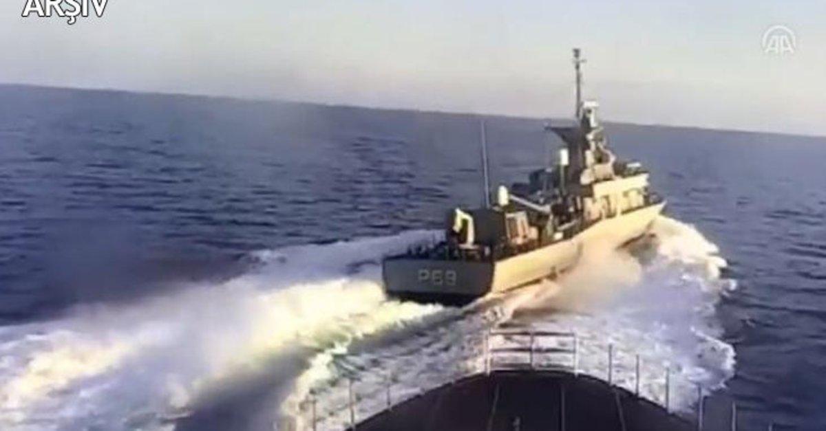 Yunan botlarının tacizine TSK engeli