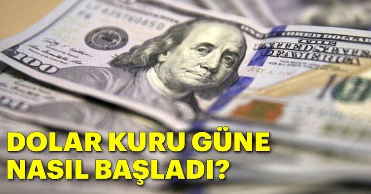 Dolar kurunda son durum... Dolar kaç lira oldu?