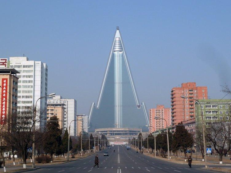 Hiç görmediğiniz fotoğrafıyla Kuzey Kore