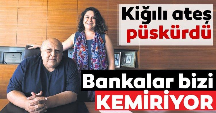 Bankalar bizi kemiriyor