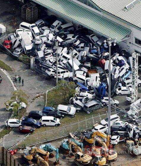 Japonya'dan gelen fotoğraflar şok etkisi yarattı