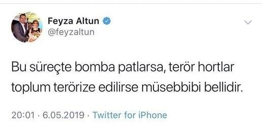 Yine CHP Yine Tehdit Bu Defa Feyza