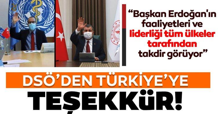 Son dakika haberi: DSÖ Avrupa Direktörü Kluge'den Türkiye'ye tebrik