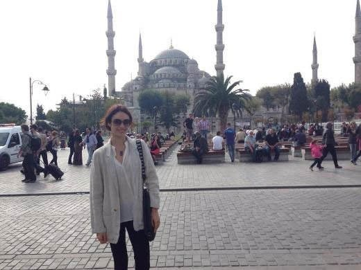 Olga Kurylenko'nun İstanbul ziyareti