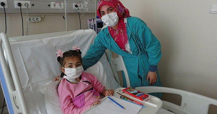 16 aylık bebeğin iki böbreği, 9 yaşındaki Zehra'ya hayat oldu