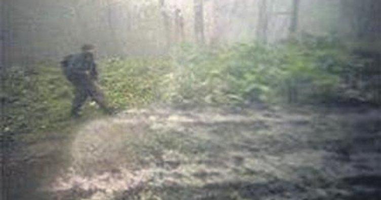 Maçka'daki teröristler fotokapana yakalandı