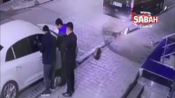 Kendilerine polis süsü verip arama yaptıkları turistleri soydular | Video