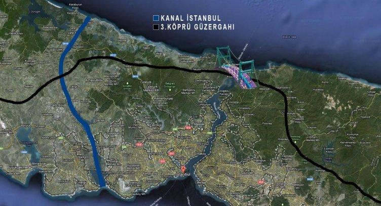 Türkiye'nin yüz akı Kanal İstanbul