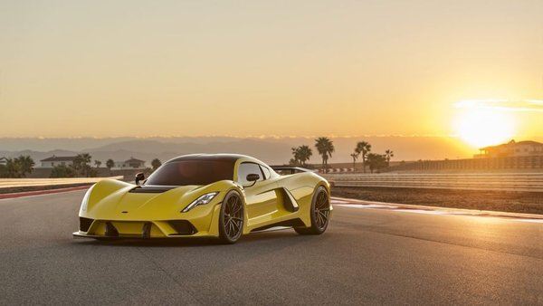 Dünya hız rekorunu kıran otomobil: Hennessey Venom F5