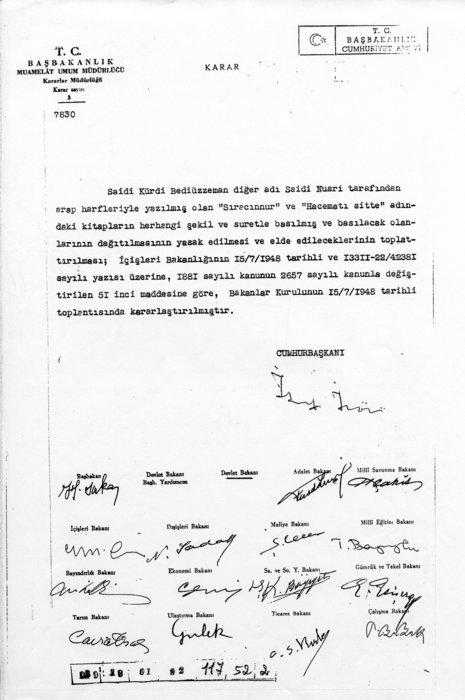 CHP yıllarca Bediüzzaman ile mücadele etti