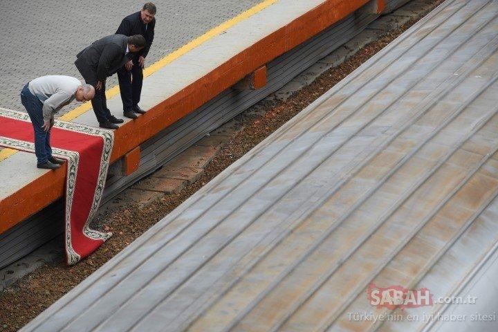 Kİm Jong Un'un gizemli treni Rusya'da!