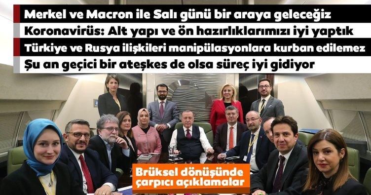 Son dakika: Başkan Erdoğan Brüksel dönüşü müjdeyi verdi: Benzin indirimi bu geceden itibaren...
