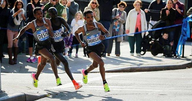 New York Maratonu'nda bir ilk