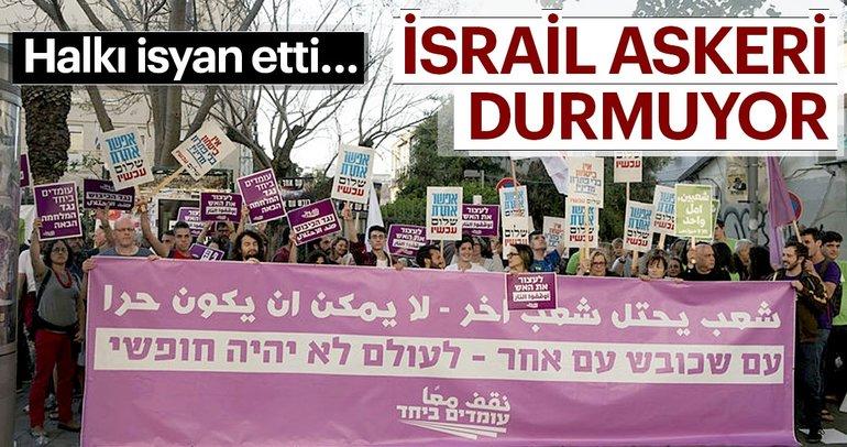 İsraillilerden orduya protesto
