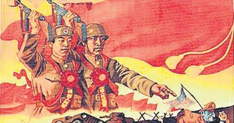 Çin TV kanalları ABD ile savaşa hazırlanıyor