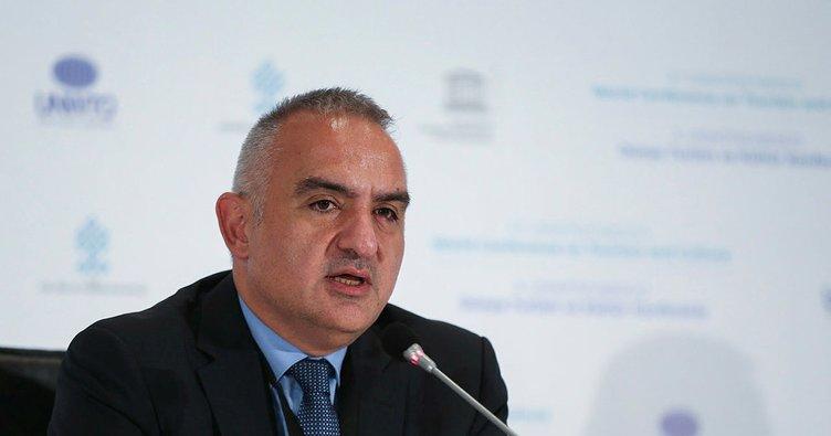 Kültür ve Turizm Bakanı Mehmet Nuri Ersoy: Turizm Geliştirme Fonu'nu yasalaştırıp hayata geçireceğiz