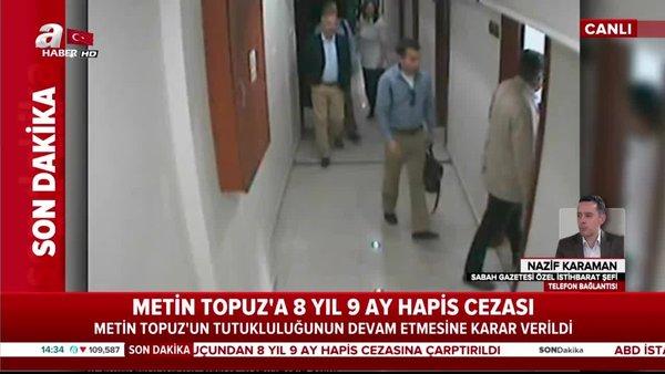 Metin Topuz'un her duruşmasına ABD'den görevliler geldi! | Video