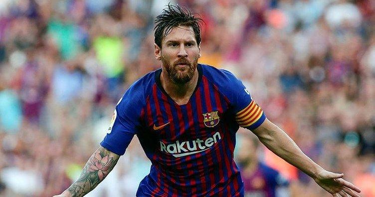 Messi kapıyı açık bıraktı