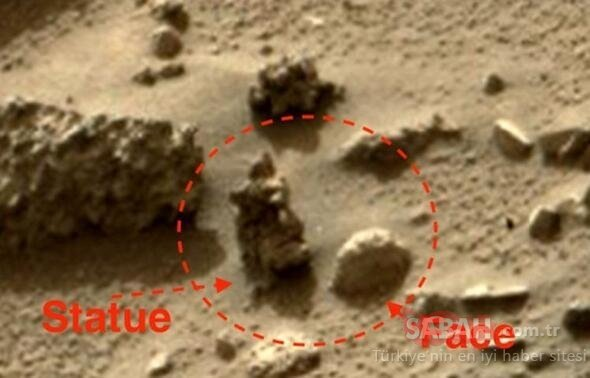 Uzayda çekilen şoke eden görüntüler! Sırrını çözmek için...
