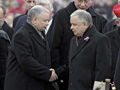 Lech Kaczynski - Jaroslaw Kaczynski