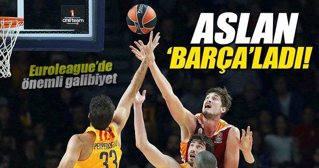 Galatasaray Odeabank - Barcelona maç sonucu